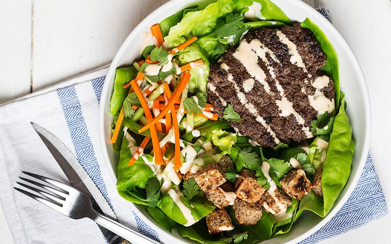 Banh Mi Burger Bowl