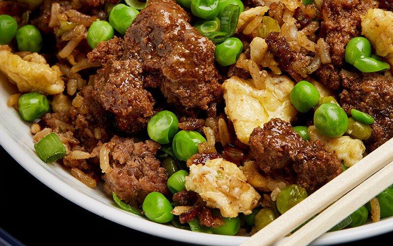 Beef & Scallion Fried Rice