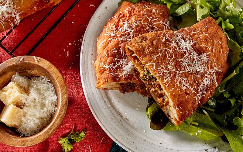 Calabrian Beef Calzone