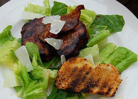 Beef Tenderloin Carbonara