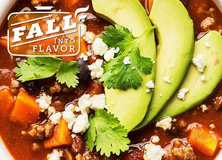 Beefy Sweet Potato & Black Bean Chili