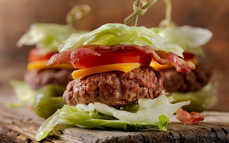 BLT Cheeseburger Sliders