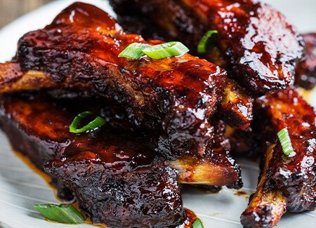 Broiled Asian Sticky Ribs