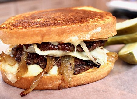 Classic Grilled Patty Melt