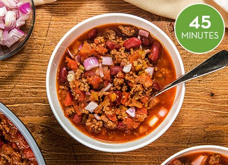 Flavorful Fall Chili