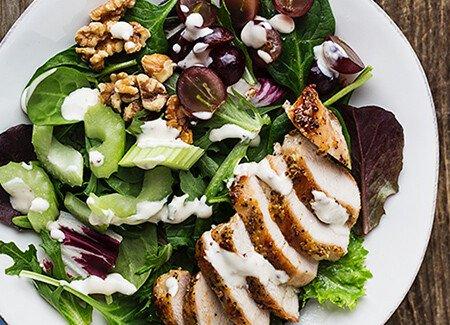 Grilled Mustard Chicken Salad
