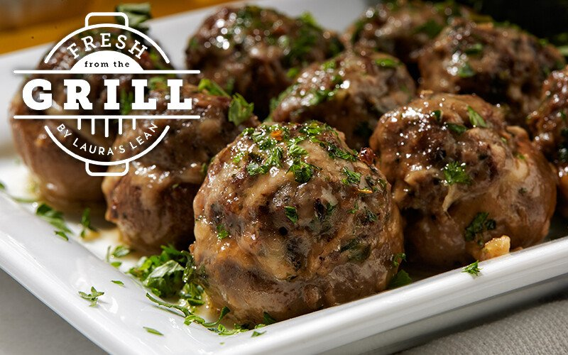 Grilled Stuffed Mushrooms