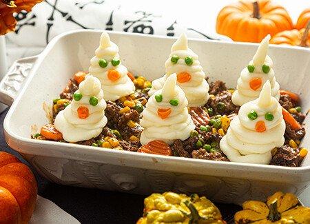 Halloween Spooky Shepherd's Pie