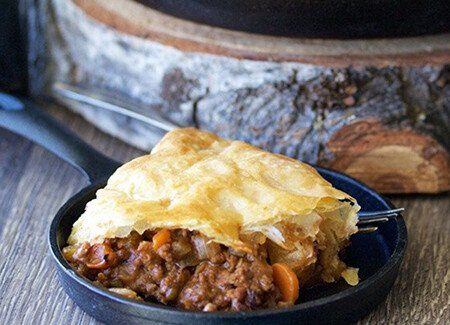 Irish Beef & Stout Pie