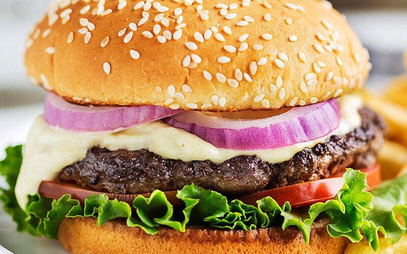 Zesty Horseradish Burger