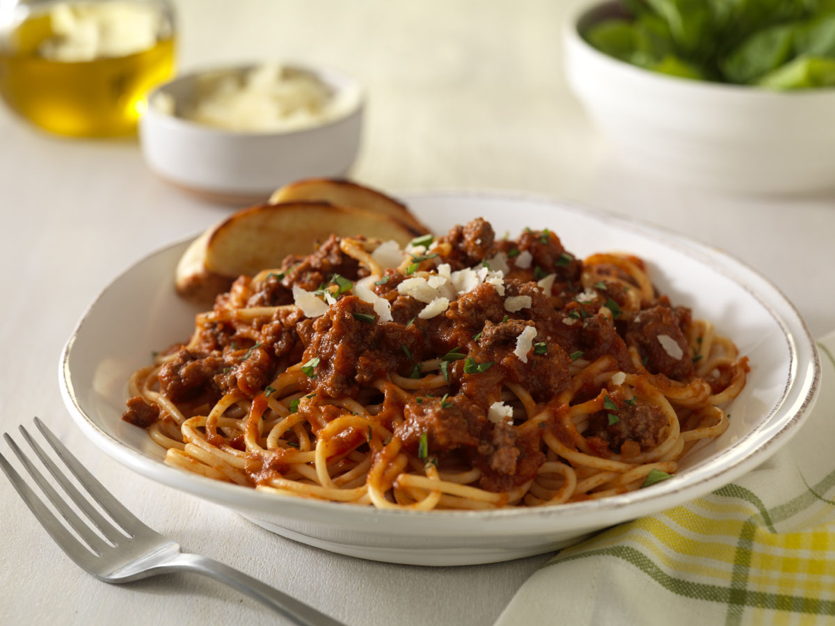 Simple Slow Cooker Bolognese