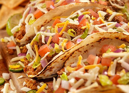 Smoky Ground Beef Tacos