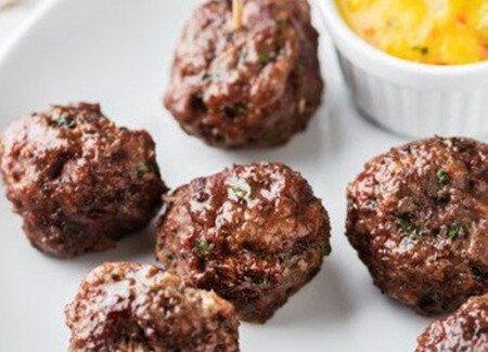 Thai Style Meatballs